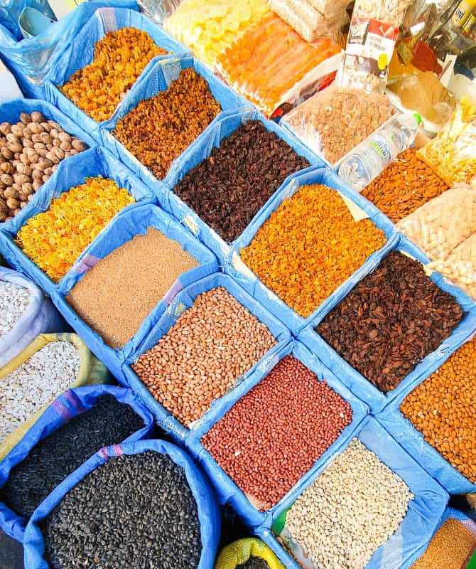 moroccan spices and herbs