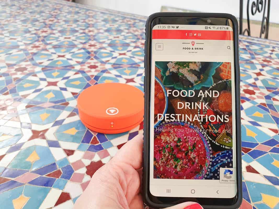 Portable WiFi For Morocco