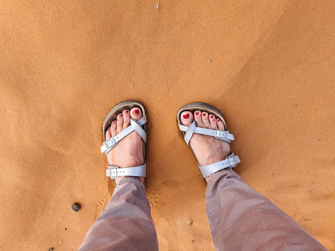 What shoes to pack for Morocco