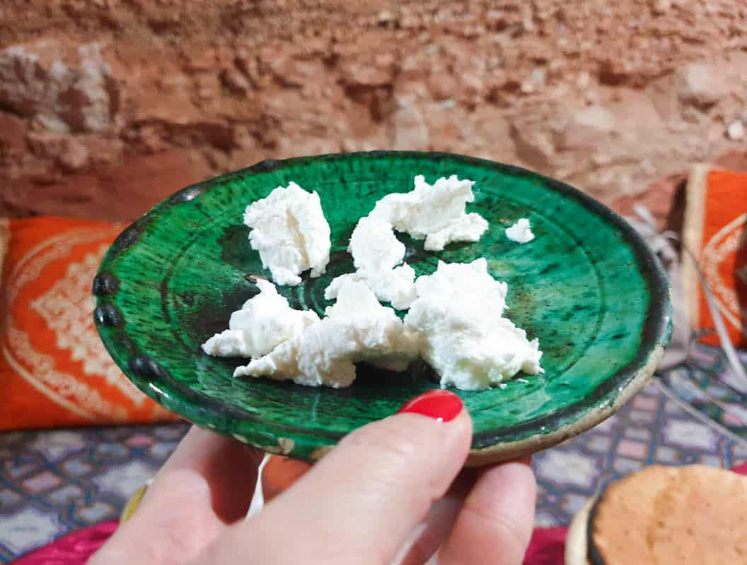 Moroccan Goat Cheese