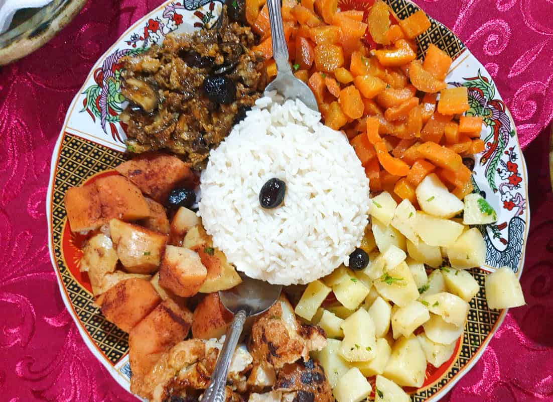 moroccan vegetable dishes