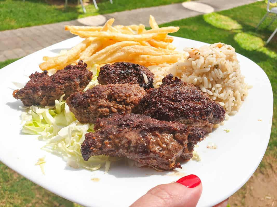moroccan lunch - Kefta
