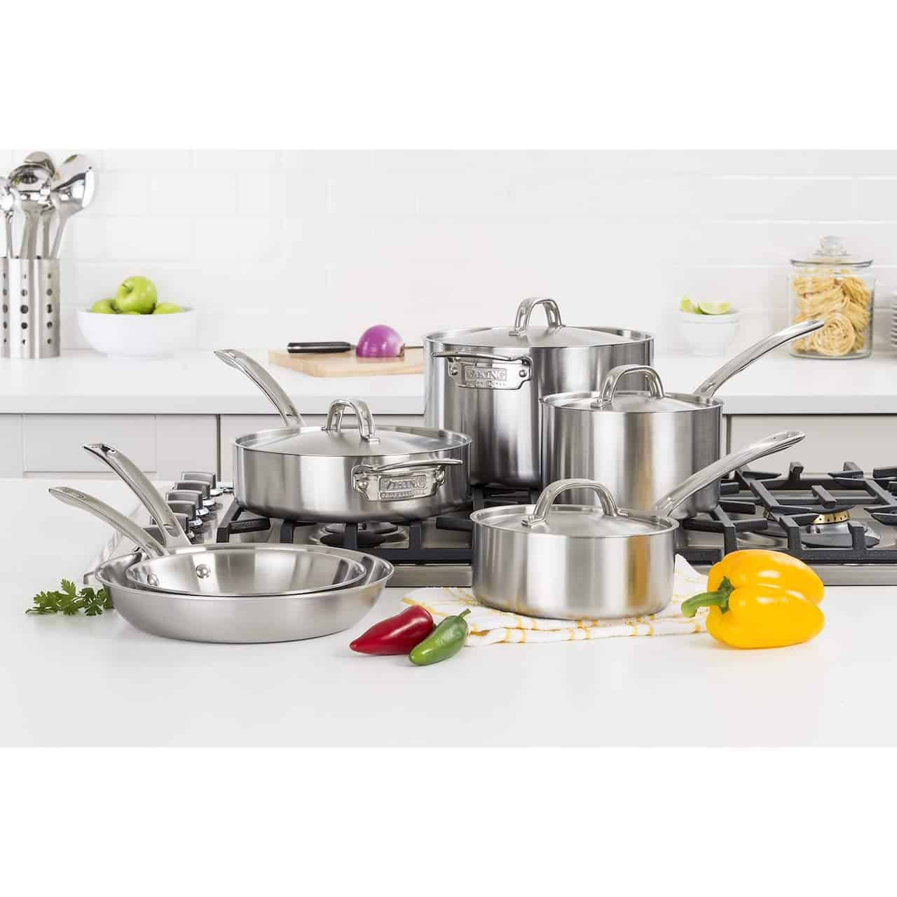 Best Cookware Set 2020.The 7 Best Stainless Steel Cookware Sets For 2020 Food Blog