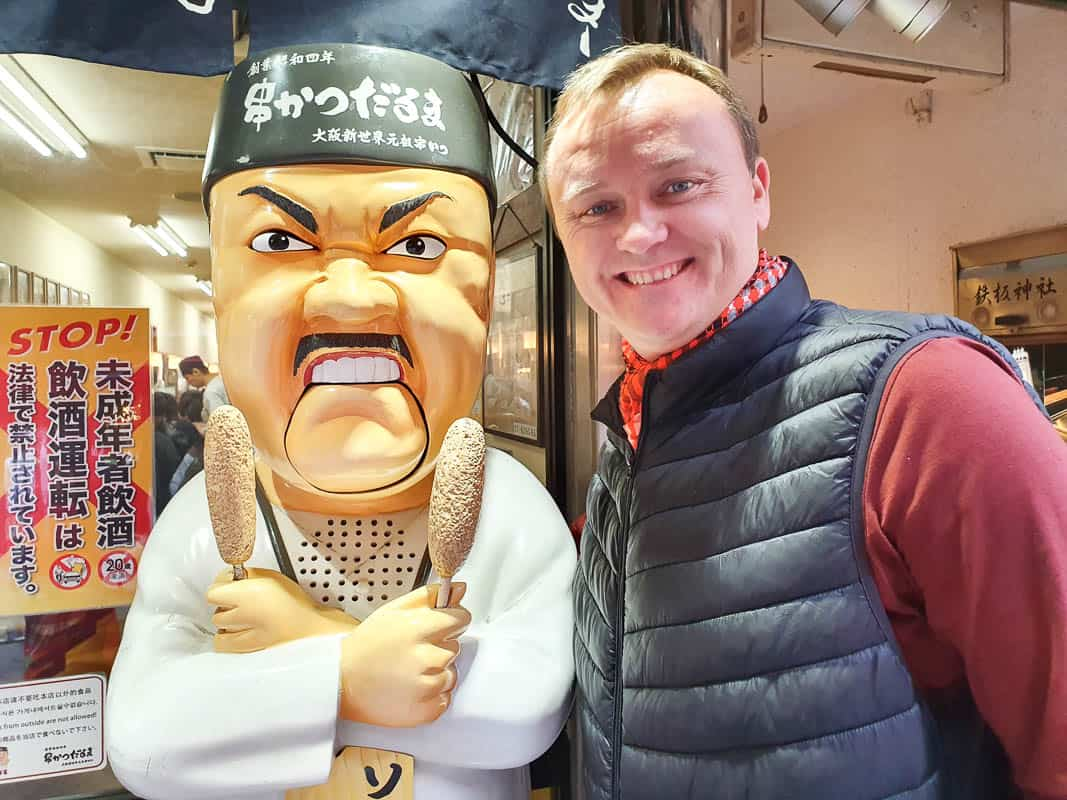 Daruma Angry Chef Osaka