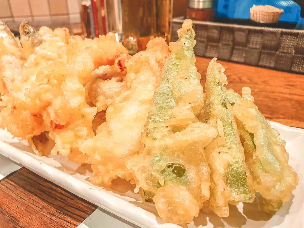 best tempura in osaka