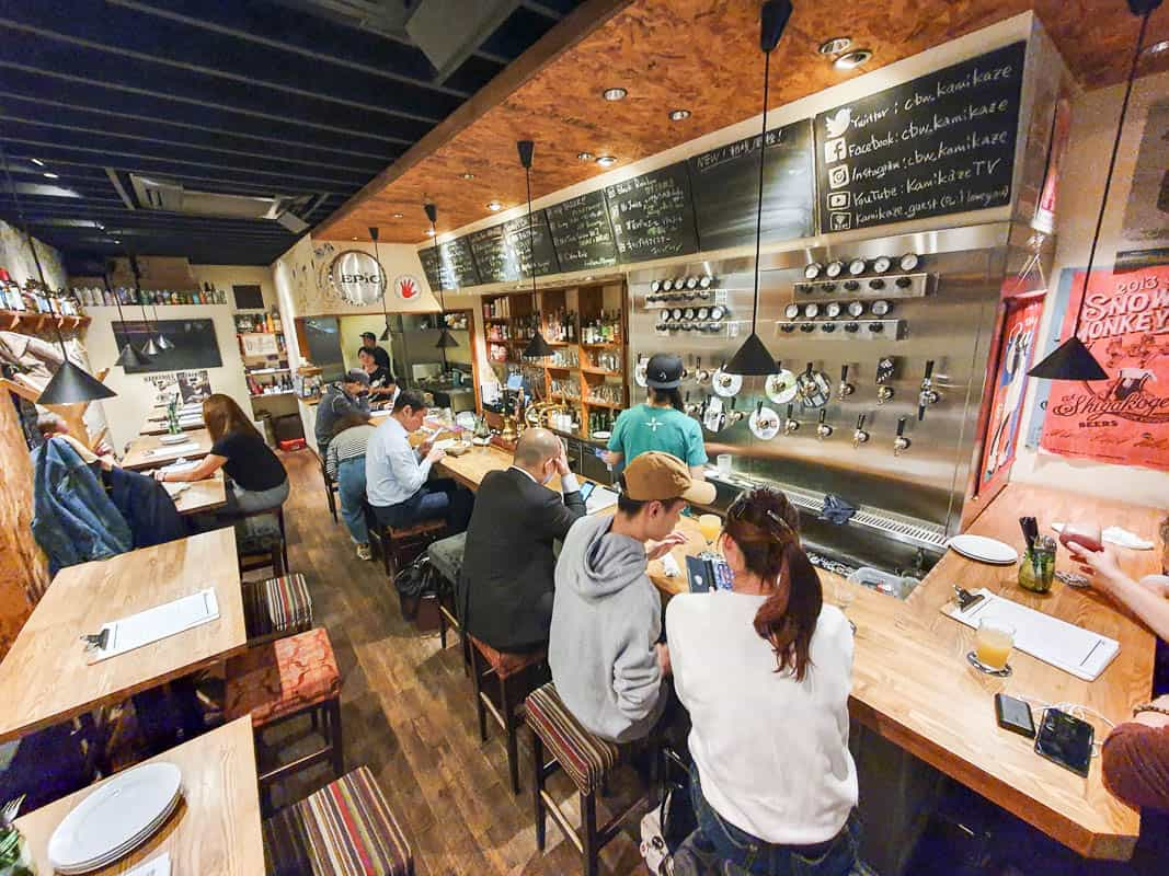Craft Beer Works Kamikaze Osaka