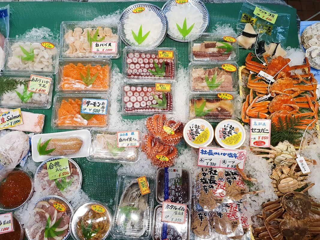Local Market In Osaka