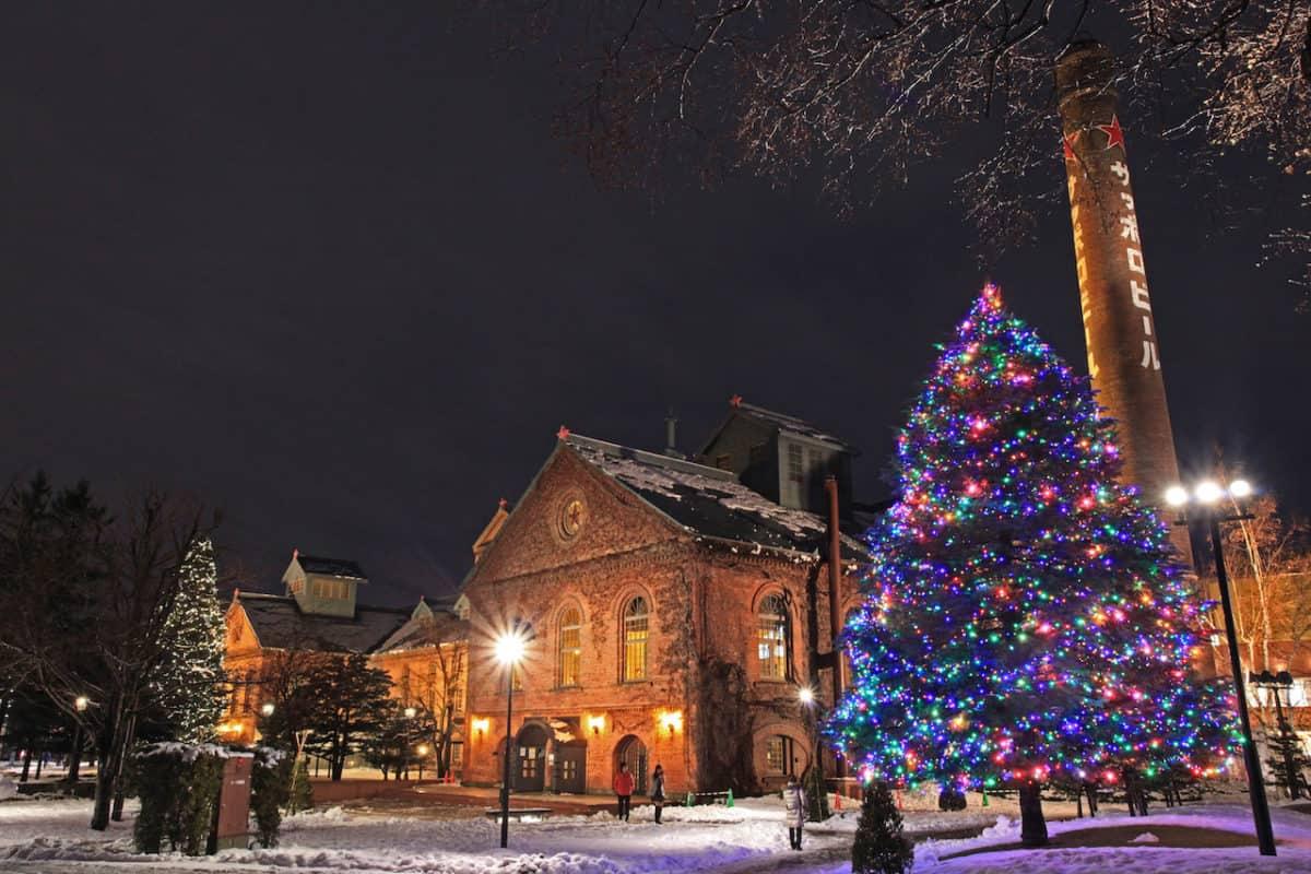 Sapporo Beer Museum in Winter