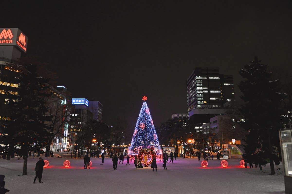 Christmas Season in Sapporo