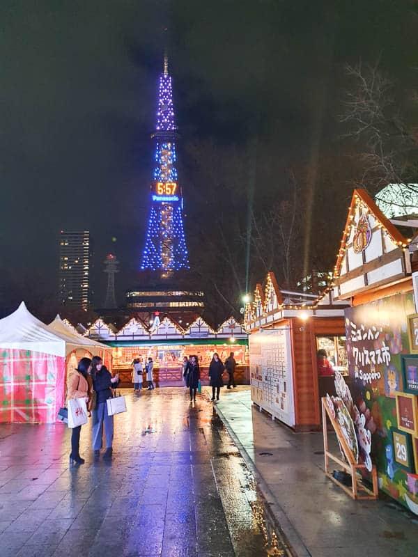 Christmas Market in Sapporo