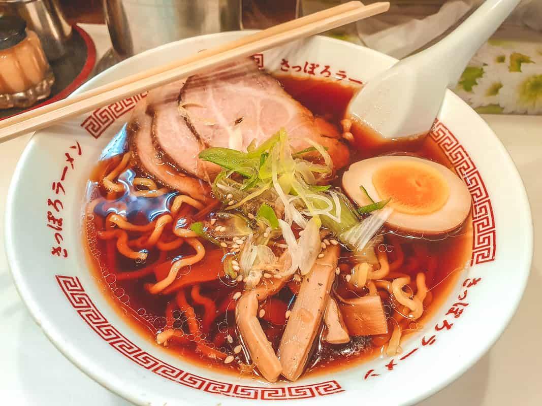 Soy Ramen From Asahikawa