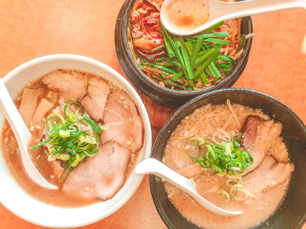 trip around japan for ramen