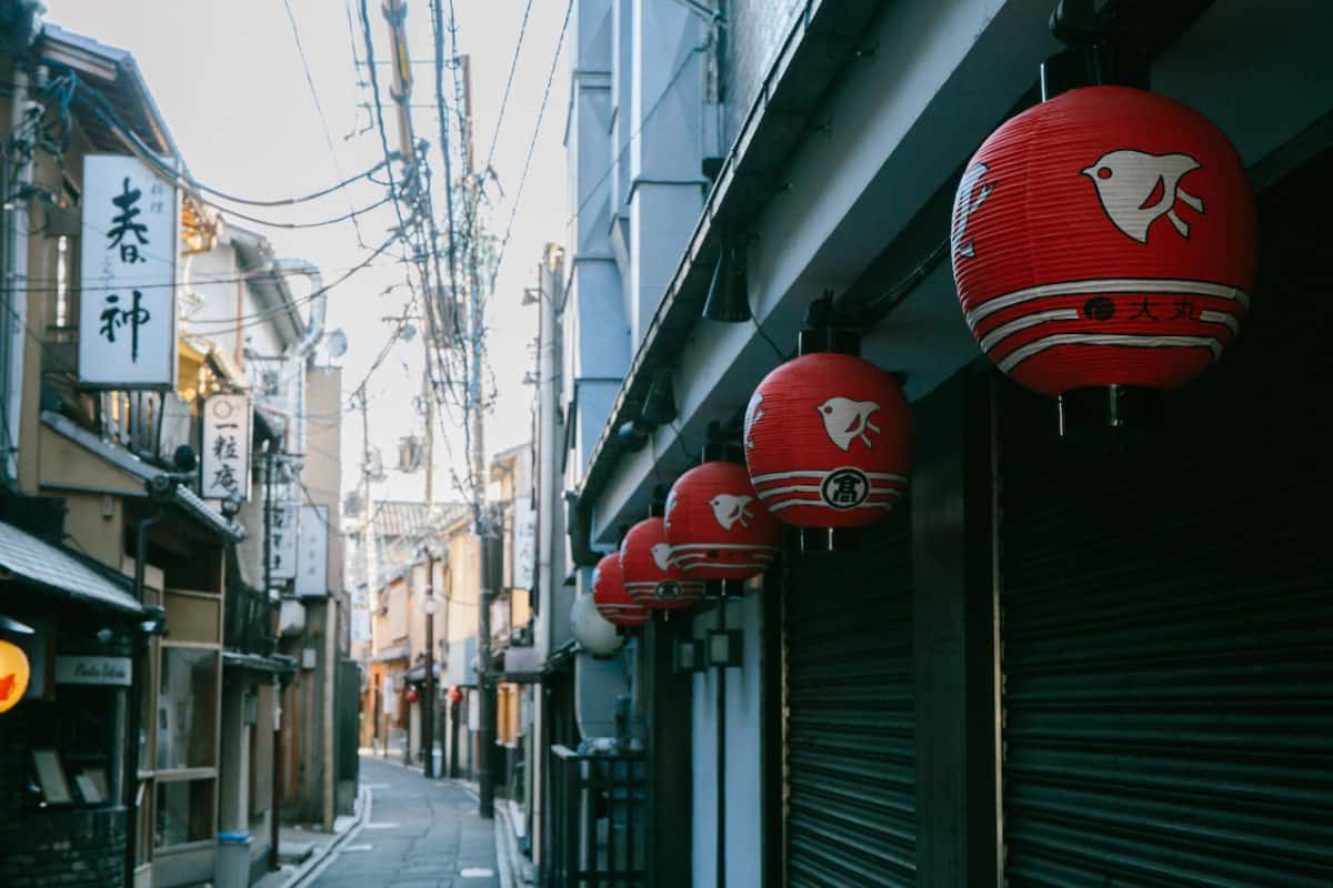 Where to eat in Kyoto - Pontocho Alley