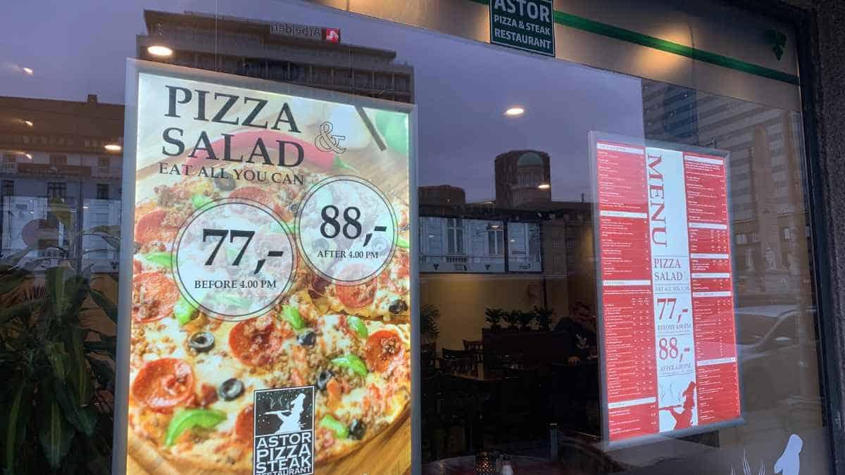 Best Places To Eat Pizza In Copenhagen
