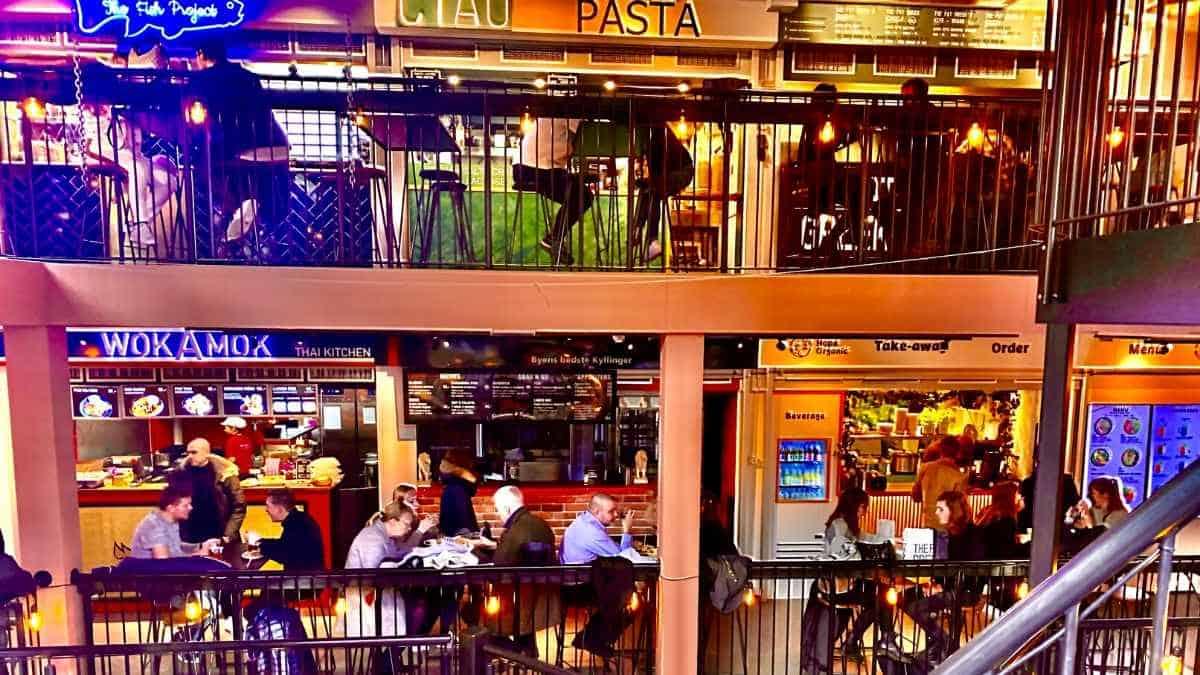 Boltens Food Hall For Cheap Eats In Copenhagen