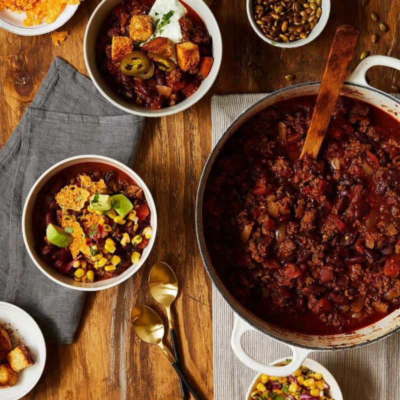Chili recipes with coffee