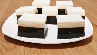 Multi-Layer Coconut Cream and Coffee Jelly Recipe