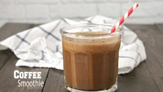 Coffee Smoothie (any flavor you'd like!)
