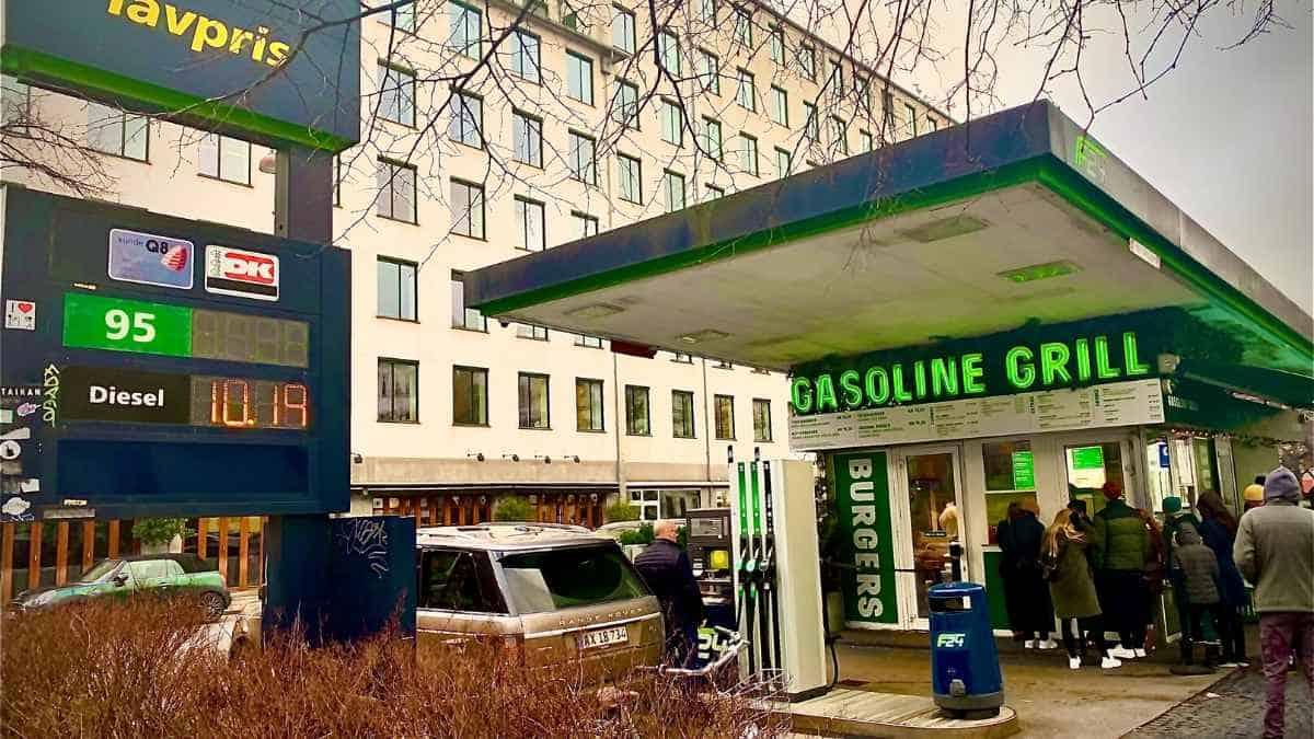 Gasoline Grill Cheap Restaurant Copenhagen