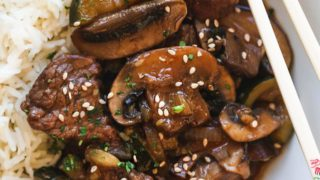 Instant Pot Hibachi Steak and Vegetables