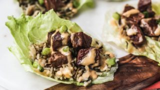Hibachi Rice Recipe Steak Lettuce Wraps