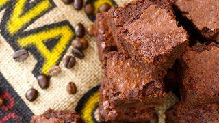 Kona Coffee Kahlúa Brownies