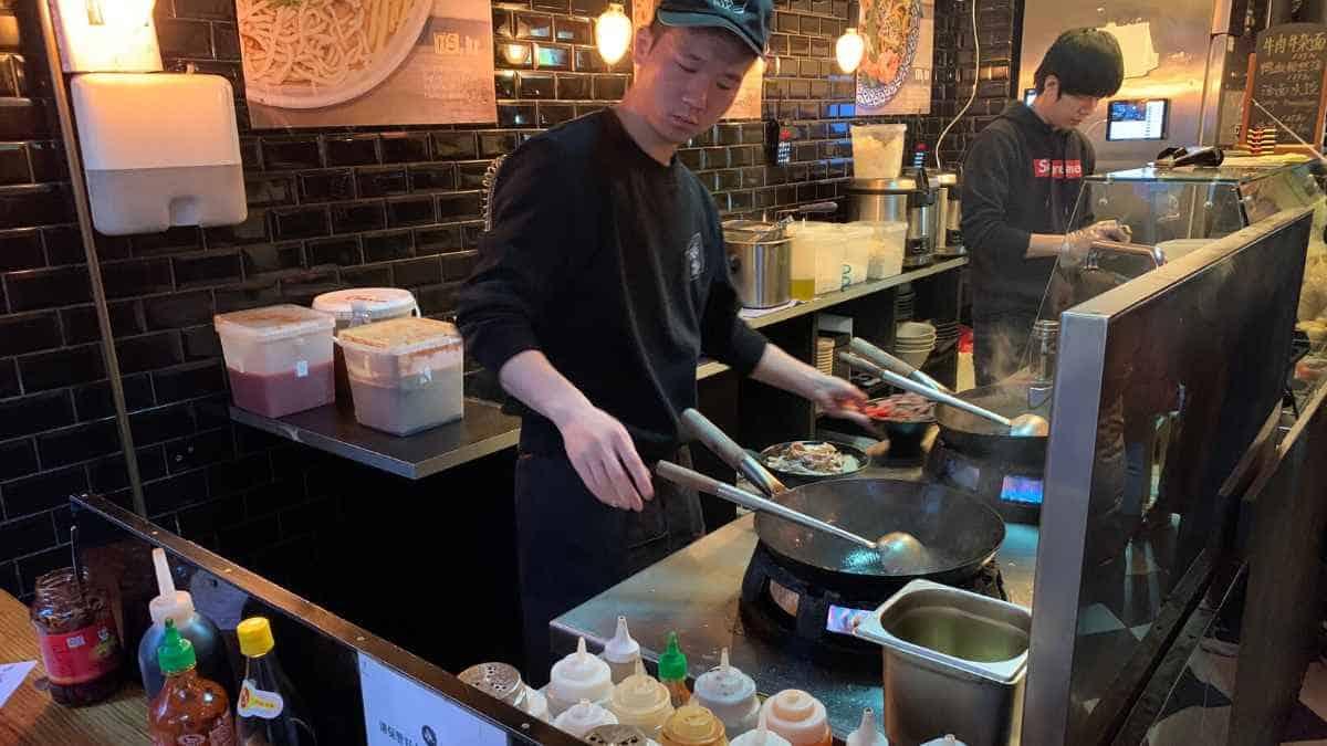 Momo Wok cheap lunch Copenhagen