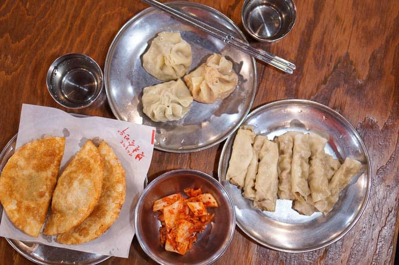 mandu dumplings in Seoul