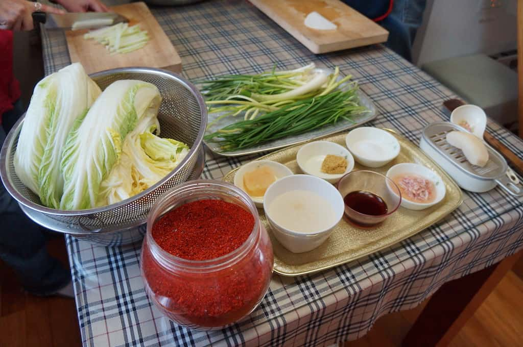 Kimchi Making Class In Seoul