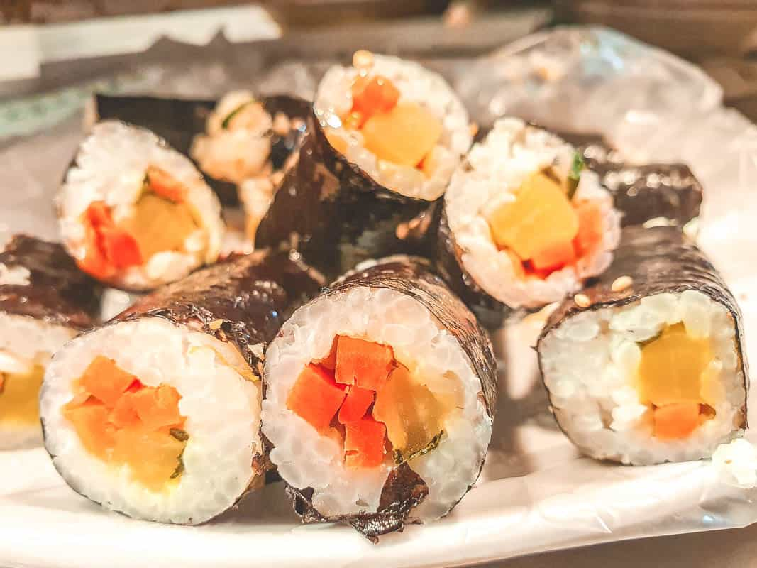 "Kimbap or Gimbap - Korean ""Sushi"""