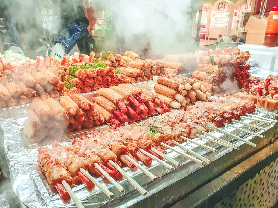 Walking Seoul Korean Street Food Tour