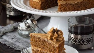 Easy Coffee Cake Recipe With Coffee Buttercream Icing