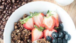 Coffee Granola - Gluten Free And Dairy Free