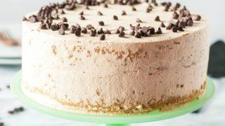 Coffee and Cream Sponge Cake