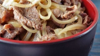 Gyudon Beef Bowl Recipe