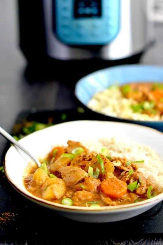 Japanese curry instant pot
