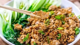 Instant Pot Soy-Ginger Chicken Hibachi