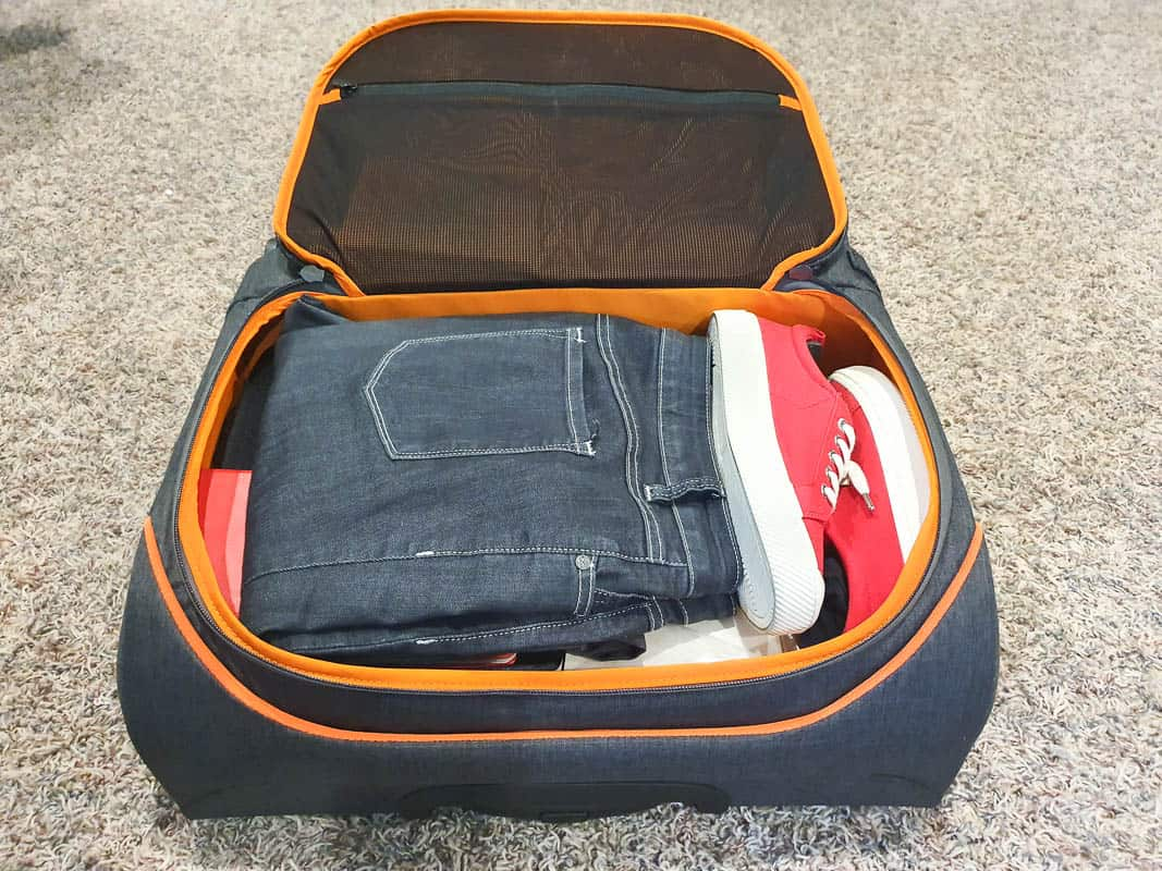 large wheeled carry on bag by Rollux