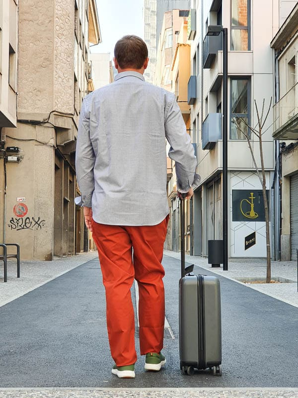 best rolling suitcase for Europe