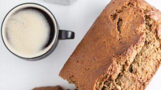 Coffee Infused Banana Bread