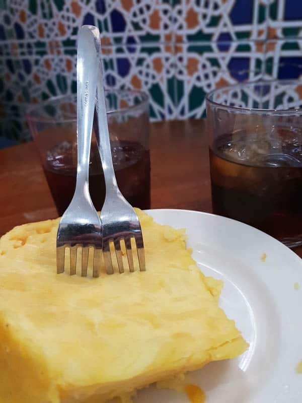 Where to eat tortilla in Cordoba