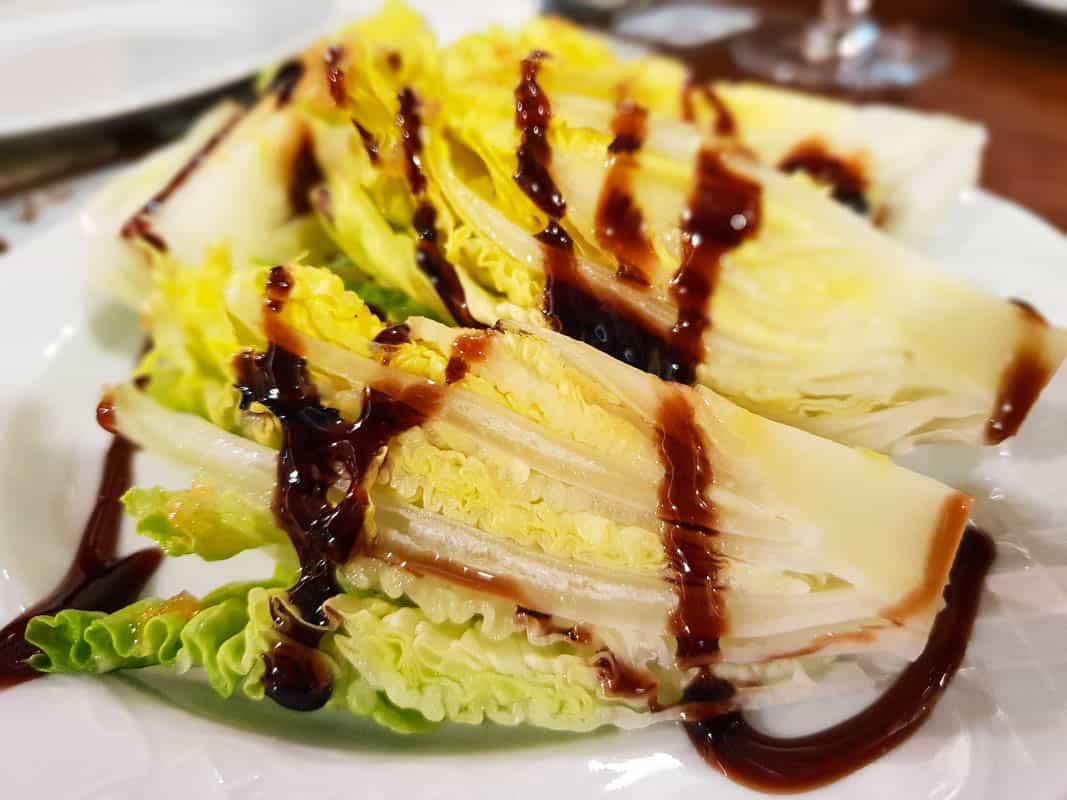 Lechuga al Ajillo – Lettuce with Garlic