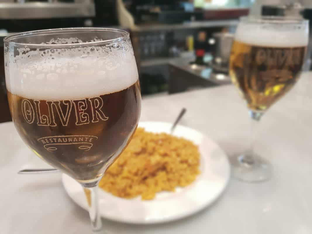 Ordering Beers In Granada