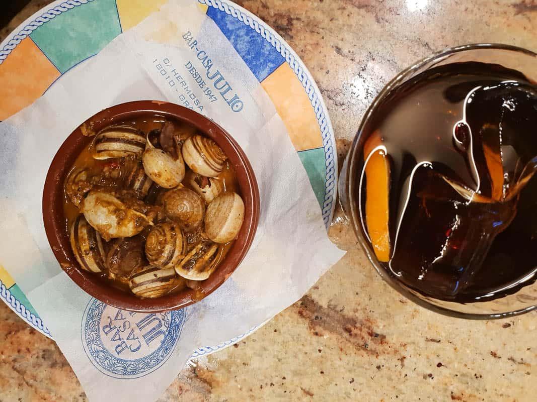 Granada Food Guide