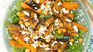 Moroccan Eggplant Salad With Harissa And Carrot