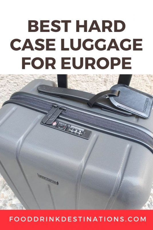 Best Hard Case Spinner Luggage For Euope
