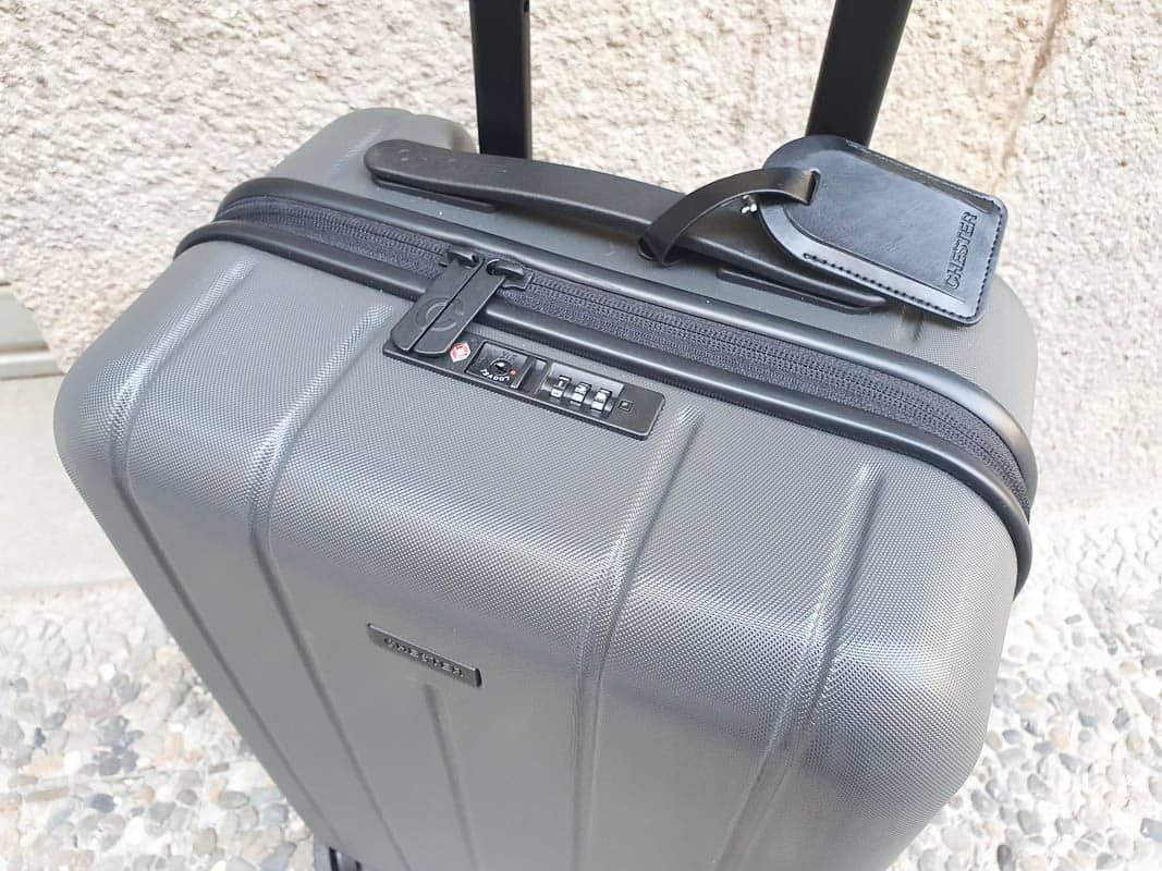 best wheeled suitcase with luggage lock