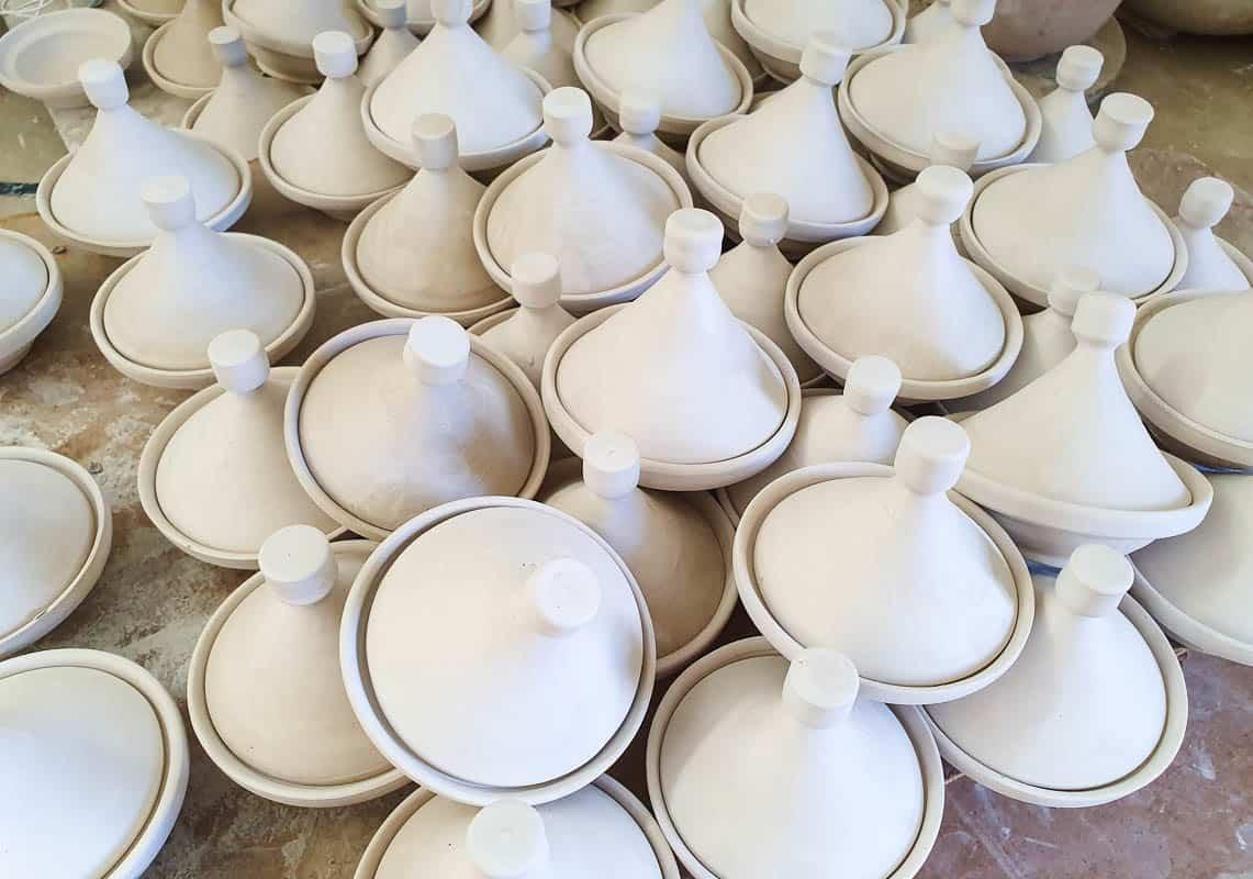 Tagine clay pot