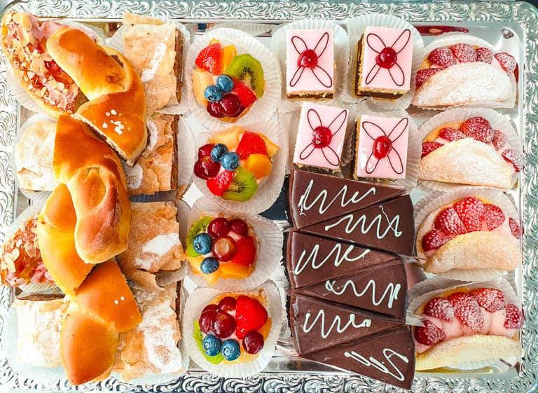 Plats et desserts traditionnels autrichiens
