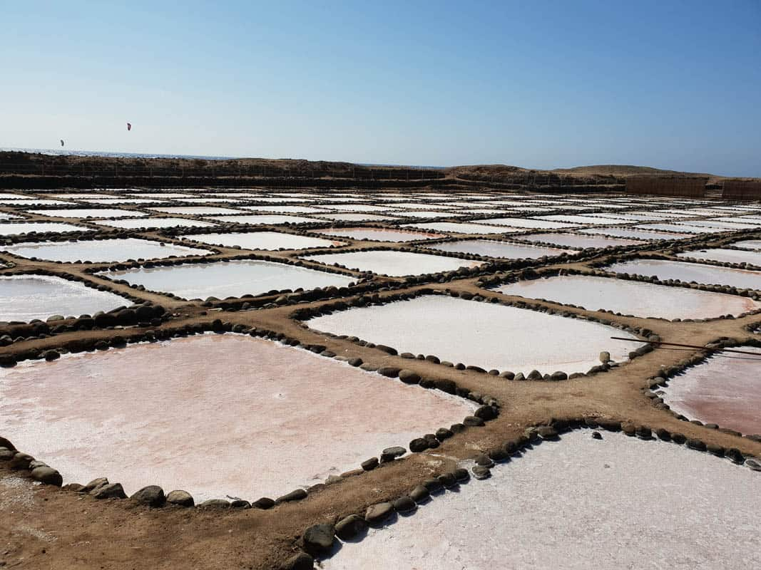 salt production in the Canary Islands